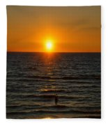 Sundown Admiration Fleece Blanket