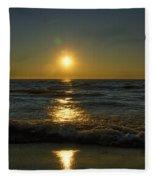 Sundown Gazing Fleece Blanket