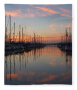 Sundown Serenade  Fleece Blanket