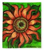 Sunflower 1 Fleece Blanket
