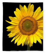Sunflower 2 Fleece Blanket