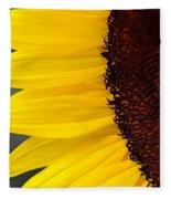 Sunflower Beauty Fleece Blanket
