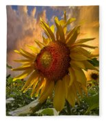 Sunflower Dawn Fleece Blanket