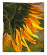 Sunflower Farm 1 Fleece Blanket