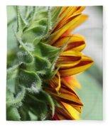 Sunflower Named The Joker Fleece Blanket