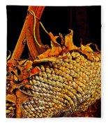 Sunflower Seeds In Oils Fleece Blanket