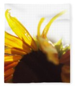 Sunflower Sunlight Fleece Blanket