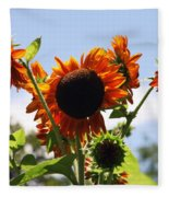 Sunflower Symphony Fleece Blanket