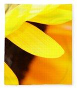 Sunflowers 2 Fleece Blanket