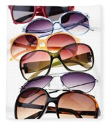 Sunglasses Fleece Blanket