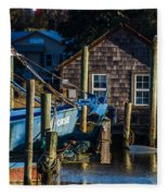 Shem Creek Life Fleece Blanket