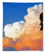 Sunkissed Storm Cloud Fleece Blanket