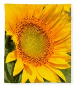 Sunkissed Sunflower Fleece Blanket