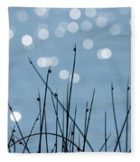 Sunlight Dances Fleece Blanket