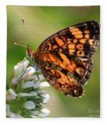 Sunlight Through Butterfly Wings Fleece Blanket