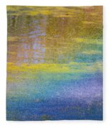 Sunlight Through Water Fleece Blanket