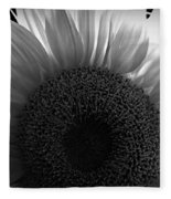 Sunlit Bw Fleece Blanket