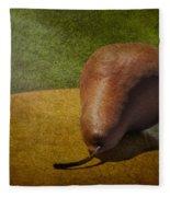 Sunlit Pear Fleece Blanket