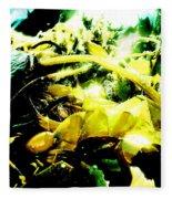 Sunlit Seaweed Fleece Blanket