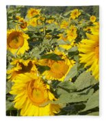 Sunning With Friends Fleece Blanket