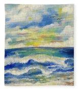 Sunny Day II Fleece Blanket