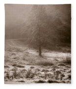 Sunny Frosty Douglassville Fleece Blanket