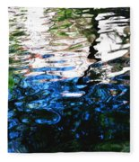 Sunny Lagoon Reflection 29417 Fleece Blanket