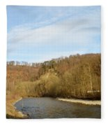 Sunny Valley Fleece Blanket