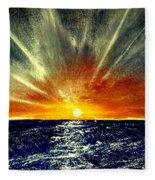 Sunrays Fleece Blanket