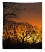 Sunrise - Another Perspective Fleece Blanket