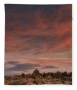 Sunrise Alabama Hills Near Lone Pine Ca Mg 0619 Fleece Blanket