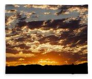Sunrise At Spirit Lake Sanctuary 20140710 0604 Fleece Blanket