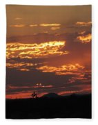 Sunrise Closeup 9-11-2013 Fleece Blanket