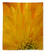 Sunrise Dahlia Abstract Fleece Blanket