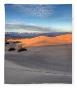 Sunrise Dunes Fleece Blanket