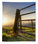 Sunrise  Gate Fleece Blanket