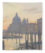 Sunrise Grand Canal Fleece Blanket