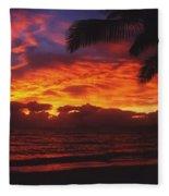Sunrise In Queensland 2 Fleece Blanket