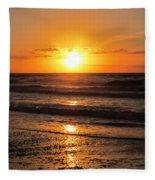 Sunrise In Texas 4 Fleece Blanket