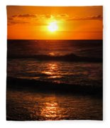 Sunrise In Texas 5 Fleece Blanket