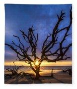 Sunrise Jewel Fleece Blanket