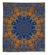 Sunrise Kaleidoscope Fleece Blanket