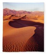 2a6856-sunrise On Death Valley Fleece Blanket