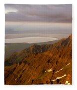 Da5901-sunrise On Steens Mountain Fleece Blanket