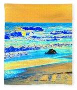 Sunrise On Tybee Island - Photopower 169 Fleece Blanket