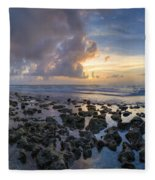 Sunrise Panorama Fleece Blanket