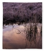 Sunrise Reflection Fleece Blanket