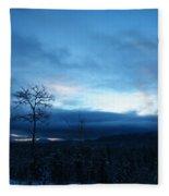 Sunrise Sentinel Fleece Blanket