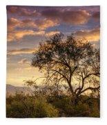 Sunrise Serenity  Fleece Blanket