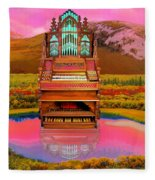 Sunrise Service Fleece Blanket